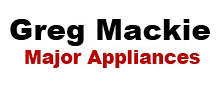 Greg Mackie Major Appliances Logo
